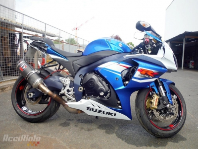 SUZUKI GSXR 1000 Damaged