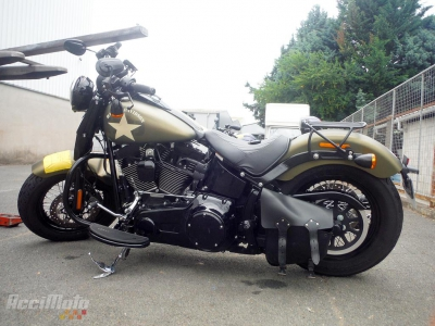HARLEY DAVIDSON SOFTAIL 1800 Damaged