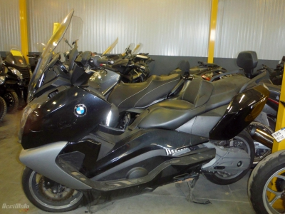 BMW C650 GT Accidentée
