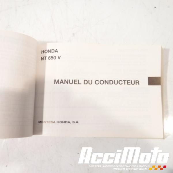 manuel du propriétaire (origine)