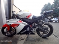 moto accidentee YAMAHA YZF - R 125