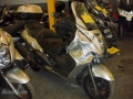 moto accidentee HONDA SILVERWING 400 FJS400