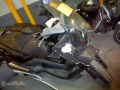 moto accidentee PEUGEOT SATELIS 400