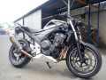 moto accidentee HONDA CB500