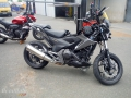moto accidentee HONDA NC750