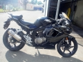 moto accidentee HYOSUNG GT 125