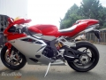 moto accidentee MV AGUSTA F4 998