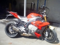 moto accidentee BMW S1000R