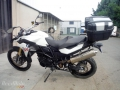 moto accidentee BMW F800 GS