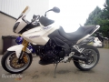 moto accidentee TRIUMPH TIGER 1050