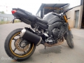 moto accidentee YAMAHA FZ8 FZ 8