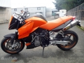 moto accidentee KTM SUPERDUKE 990