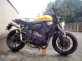 moto accidentee YAMAHA XSR 700