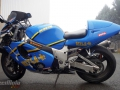 moto accidentee SUZUKI GSXR 750