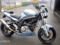 moto accidentee SUZUKI SV 650 N