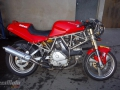 moto accidentee DUCATI 600SS 600 SS