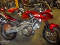 moto accidentee APRILIA SHIVER750