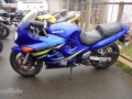 moto accidentee SUZUKI GSXF 600