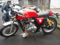 moto accidentee ROYAL ENFIELD CONTINENTAL 500 GT