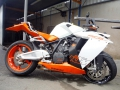 moto accidentee KTM RC8 1190