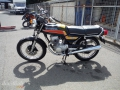 moto accidentee HONDA CB125 T TWIN