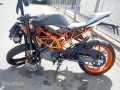 moto accidentee KTM RCR ENDURO