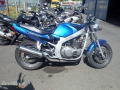 moto accidentee SUZUKI GS 125