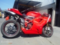 moto accidentee DUCATI SUPERBIKE 1198