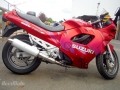 moto accidentee SUZUKI GSX 750