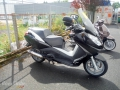 moto accidentee PEUGEOT SATELLIS 125
