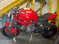 moto accidentee DUCATI MONSTER 1100