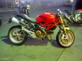 moto accidentee DUCATI MONSTER 1100 S