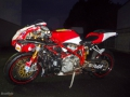 moto accidentee DUCATI SUPERBIKE 999 S