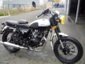 moto accidentee MASH QM 125