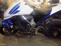 moto accidentee HONDA CB1000 R
