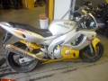 moto accidentee YAMAHA YZF 600R THUNDERCAT