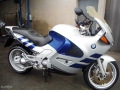 moto accidentee BMW K1200 RS