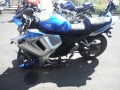 moto accidentee SUZUKI GSXF 650