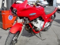 moto accidentee YAMAHA XJ6S DIVERSION