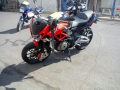 moto accidentee APRILIA SHIVER 750