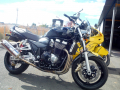 moto accidentee SUZUKI GSX 1400