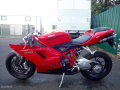 moto accidentee DUCATI SUPERBIKE 848