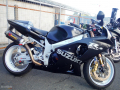moto accidentee SUZUKI GSXR 1000