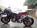moto accidentee TRIUMPH SPEED TRIPLE