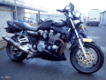 moto accidentee YAMAHA XJR 1200