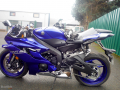 moto accidentee YAMAHA R6 YZF600