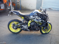 moto accidentee YAMAHA MT-10