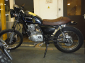 moto accidentee SUZUKI GN 125