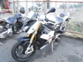 moto accidentee BMW S1000 R