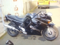 moto accidentee HONDA CBR1000 F